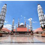 Kemegahan Masjid Agung Jawa Tengah